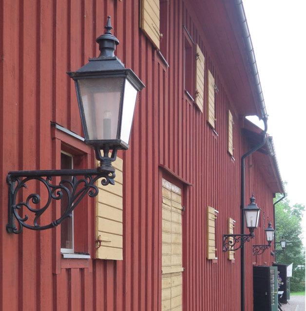 Fasadbelysning Solberga
