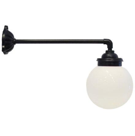 Gårdslampa 90gr Rak Koppling